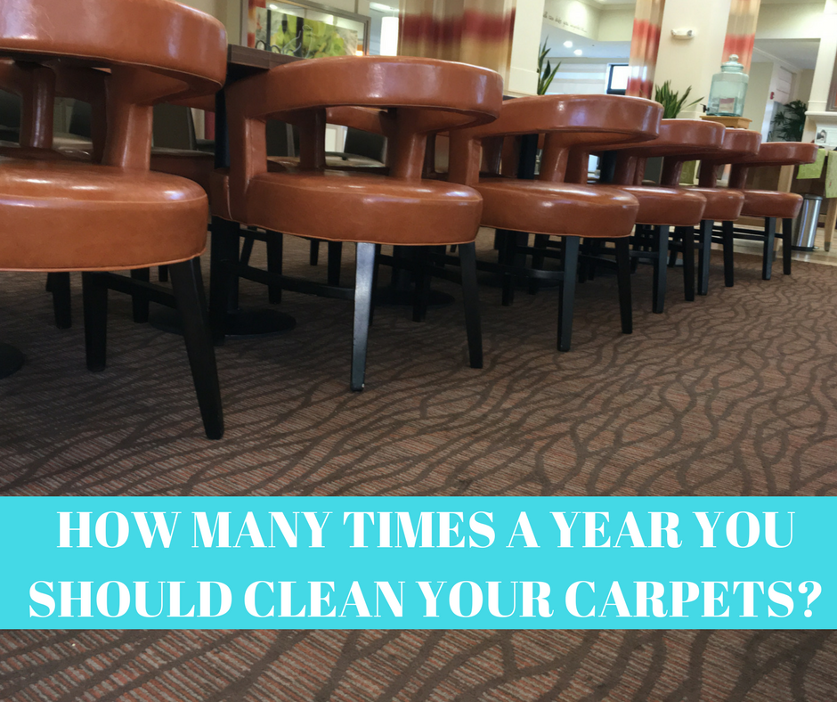 How Many times a year you should clean your carpets?