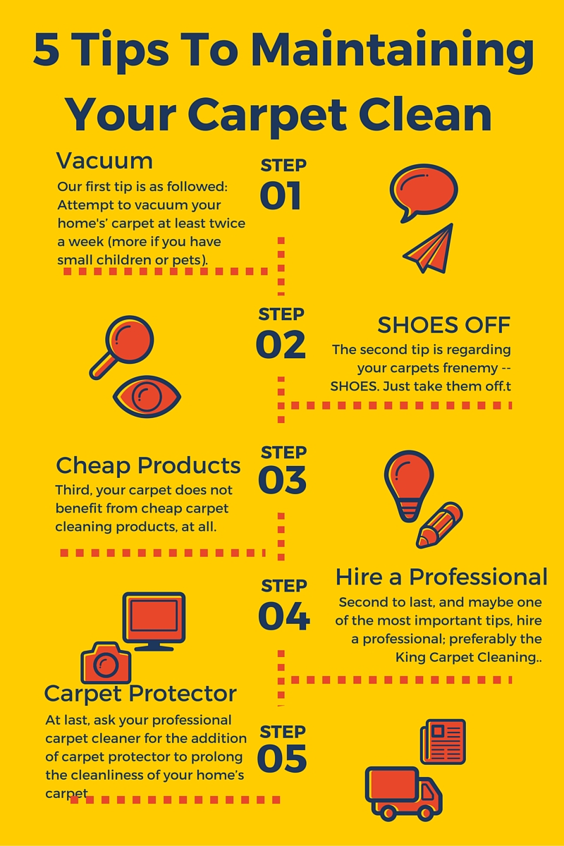 The King Best Carpet Cleaning In Arizona 5 Tips To Maintaining